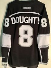 Reebok Premier NHL Jersey Los Angeles Kings Drew Doughty Black sz S