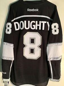 Reebok Premier NHL Jersey Los Angeles Kings Drew Doughty Black sz S