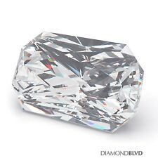 1.36ct H/SI1/Ex Polish Rec. Radiant Cut AGI Earth Mined Diamond 7.48x5.55x3.66mm