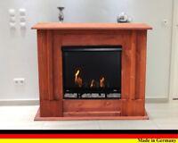 Chimenea Caminetto Fireplace Cheminee Firegel Etanol y Gel Rafael Premium Cerezo