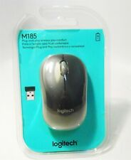 Logitech M185 Wireless Mouse Black
