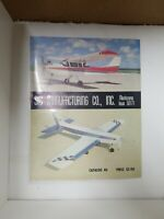 Vintage 1979 Sig Manufacturing Model Airplane 112 Page Catalog No. 40 RARE