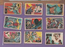 Batman Black Cowl Bat Logo Version Full set of 55 cards A&BC Gum
