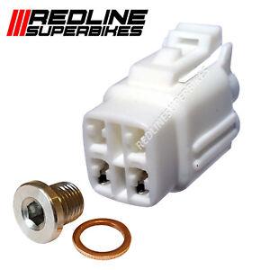 o2 Oxygen Lambda Sensor Eliminator Set Blanking Plug Suzuki GSX 650 F/FA ALL