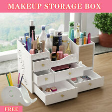 Make up Storage Box Cosmetic Jewelry Stationery Drawer Desktop Organiser Holder