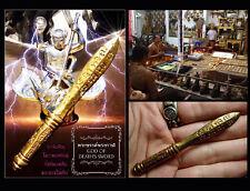 Thai Amulet Buddha Mini God Of Death's Sword Magic Strong Power By Phra Arjarn O