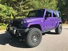 2016 Jeep Wrangler Unlimited Back Country 2016 Jeep Wrangler Unlimited SUV Purple 4WD Automatic Back Country