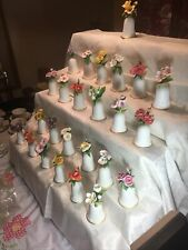 Vintage The Danbury Mint Porcelain American flower Bell collection