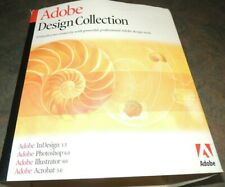 ADOBE Design Collection for MAC Photoshop 6.0 Illustrator 9.0 VTG Acrobat