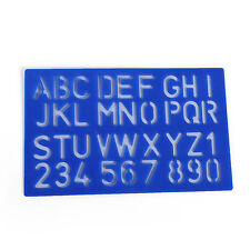 Number English Letter Stencils Template Big Size Plastic DIY CRAFT A-Z 1-10