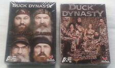 NEW DUCK DYNASTY Playing Cards - 2 Unique Decks A & E by Cardinal Industries