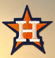 "HOUSTON ASTROS STAR LOGO AMERICAN LEAGUE CHAMPIONS PATCH MLB 3"" IRON ON NEW!"