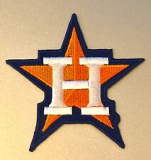"""HOUSTON ASTROS STAR LOGO AMERICAN LEAGUE CHAMPIONS PATCH MLB 3"""" IRON ON NEW!"""