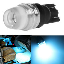 T10 5630 192 168 194 2LED Wedge LED Concave Lens Interior Light Bulbs Ice blue