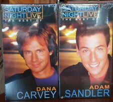 SATURDAY NIGHT LIVE The Best Of ADAM SANDLER & DANA CARVEY VHS Tape New SEALED