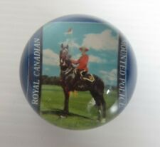 VINTAGE RCMP ROYAL CANADIAN MOUNTED POLICE PAPERWEIGHT                (INV22991)