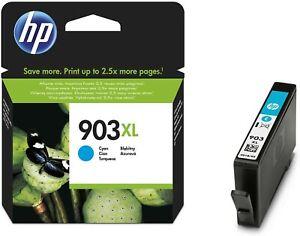 HP 903 XL Cartouche d'Encre cyan bleu grande capacité Authentique pour HP