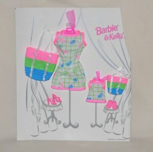 Beach Dress & Bag Fashion Avenue Barbie Kelly Matchin' Styles MOC 1998 Matching