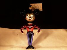 NEW RARE CHRISTOPHER RADKO CHRISTMAS ORNAMENT KISSING COUSIN MICKEY MOUSE ITALY