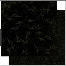 BoBunny 12x12 papel scrapbooking Doble Dot, regaliz florecer X 2 Hojas