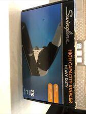 Swingline High Capacity Heavy Duty Stapler 210 Sheet Capacity Black