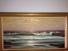 ORIGINAL OIL PAINTING By WILLIAM DESHAZO De Shazo 48x24, 32x56 Framed