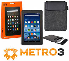New Amazon Kindle FIRE Tablet Ereader Dual Cams w IPS Display + BONUS CASE