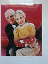JANE POWELL & DICKIE MOORE 8x10 photo AUTOGRAPHED