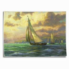 Sailboat photos HD Canvas Print Painting Home Decor room Wall Art Picture 0114