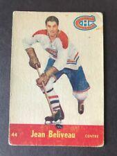 1955-56 PARKHURST #44 JEAN BELIVEAU VG