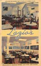 Eureka California Lazios Sea Foods Multiview Antique Postcard K38458