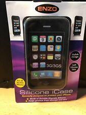 ENZO Iphone 3G/3GS Funda De Silicona-Diseño De Neumáticos-suave piel de silicona