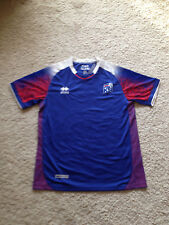 2018 Iceland world cup football shirt size M.