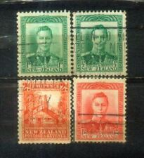 New Zealand 4 Nice Stamps