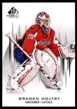 2013-14 SP Game Used Braden Holtby #4