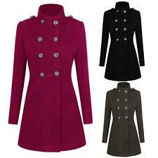 Womens Winter Long Parka Coat Jacket Ladies Windbreaker Trenchcoat Outwear Tops