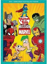 Phineas and Ferb: Mission Marvel (2013, REGION 1 DVD New) WS
