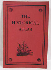 Vintage The Historical Atlas 1937 by C. S. Hammond & Co. New York 32 Pages