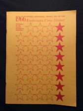 RARE1966 Pro Football Hall of Fame, Enshrinees Civic Dinner ENSHRINEMENT PROGRAM