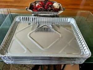 """500 Pack Disposable Aluminum foil Pan Tray Bake cakes cookies 13"""" X 17"""" X 1.50"""""""