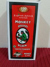 MONKY BRAND  BLACK  CHARCOAL  TOOTH POWDER.  NATURAL  TEETH WHITENING 100 GMS.