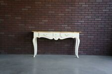 Console ~ Entry Table ~ Hall Table ~ Country French Sofa Table by Ethan Allen