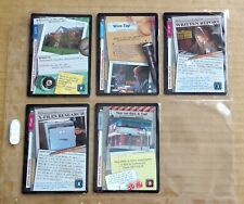 THE X-FILES PREMIERE EDITION CCG/TCG SLEEVE OF 5 x COMMON CARDS  NEW/1996  (H)