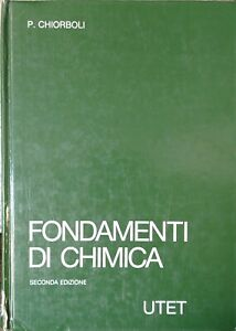 Fondamenti di Chimica P. Chiorbili - seconda Edizione