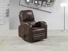 Leather Contemporary Chairs with Reclining