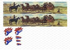 1:50 Decals transfers truck Trailer code 3 corgi,WSI,Tekno,Smokey and the Bandit