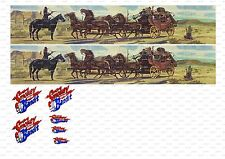 1:64 corgi Decals transfers truck Trailer code ,Smokey and the Bandit