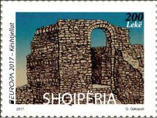ALBANIA 2017 EUROPA CEPT. CASTLES.1 stamp.MNH.