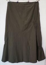 Gonne e minigonne da donna verde maxi