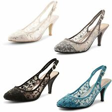 High Heel (3-4.5 in.) Slingbacks Synthetic Shoes for Women